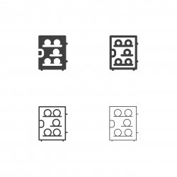 Wine Refrigerator Icons - Multi Series