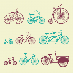 Bicycle - Color Series | EPS10