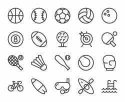 Sport - Line Icons