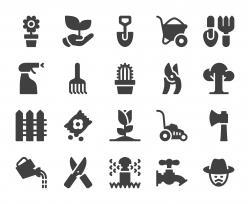 Gardening - Icons