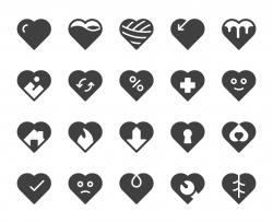 Heart Shape - Icons