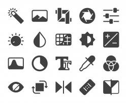 Photo Editor - Icons