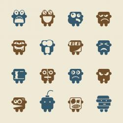 Emoticons Set 2 - Color Series | EPS10