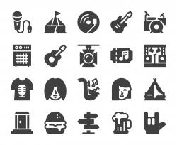 Music Festival - Icons