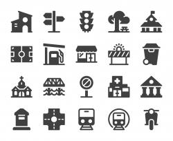 City Element - Icons