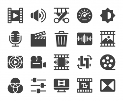 Movie Making and Video Editing - Icons