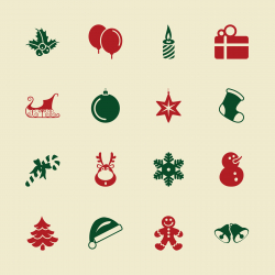 Christmas Icons - Color Series   EPS10