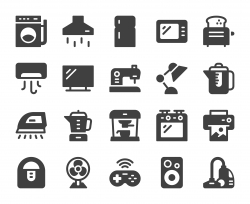 Household Appliances - Icons