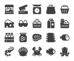 Fresh Market - Icons