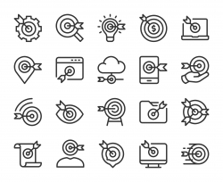 Target Market - Line Icons