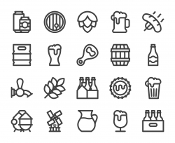 Beer - Bold Line Icons