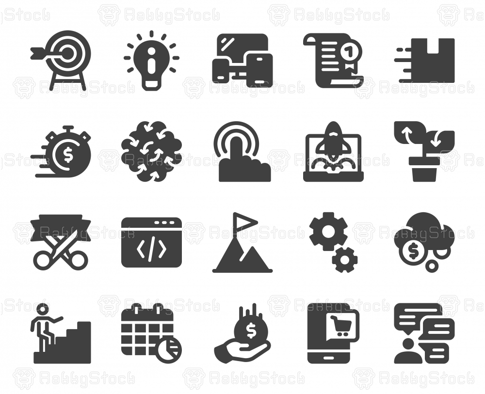 Startup Business - Icons