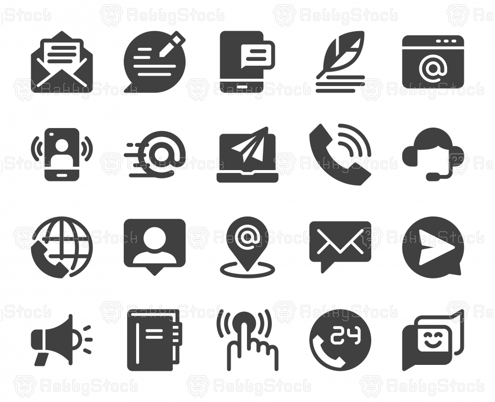 Contact Us - Icons