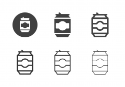 Drink Can Icons - Multi Series
