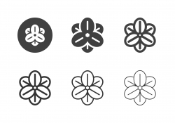 Rolf Fiedler Flower Icons - Multi Series