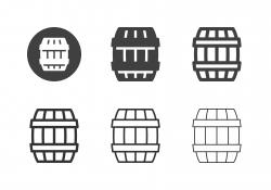 Beer Barrel Icons - Multi Series