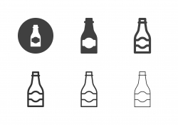 Beer Bottle Icons - Multi Series