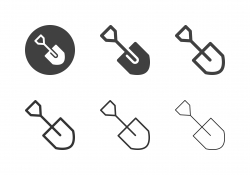 Shovel Icons - Multi Series