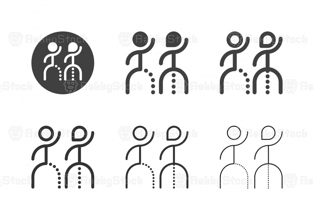 Restroom Sign Icons - Multi Series