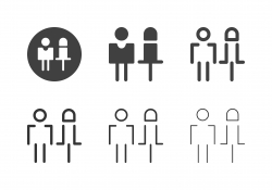 Boy and Girl Icons - Multi Series