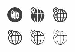 Global Location Icons - Multi Series