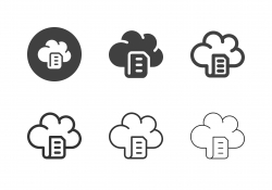 Online Document Icons - Multi Series