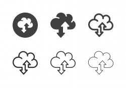 Data Transfer Icons - Multi Series
