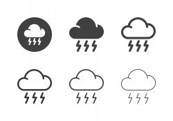 Lightning Icons - Multi Series