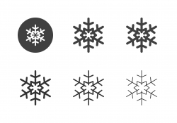 Snowflake Icons - Multi Series
