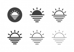 Sunset Icons - Multi Series