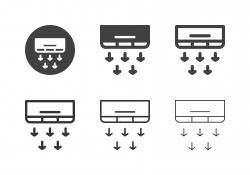 Air Conditioner Icons - Multi Series
