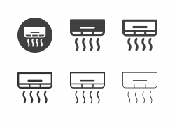 Air Conditioning Icons - Multi Series