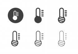 Low Temperature Icons - Multi Series