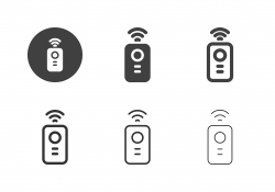 Remote Control Icons - Multi Series