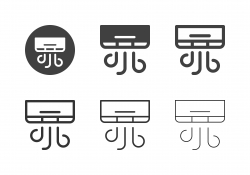 Air Condition Icons - Multi Series