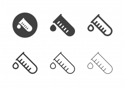 Test Tube Icons - Multi Series