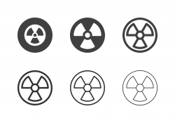 Radioactivity Icons - Multi Series