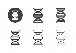 DNA Icons - Multi Series stock