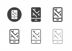 Mobile Map Icons - Multi Series