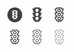 Traffic Light Icons - Multi Series