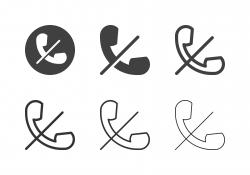 No Signal Icons - Multi Series