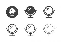 Makeup Mirror Icons - Multi Series