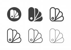 Color Palette Icons - Multi Series