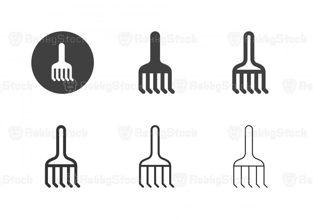 Rake Icons - Multi Series