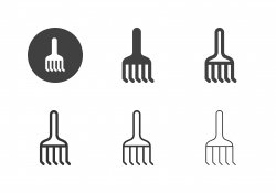 Rake Icons - Multi Series