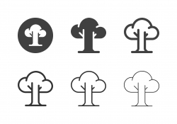 Tree Icons - Multi Series