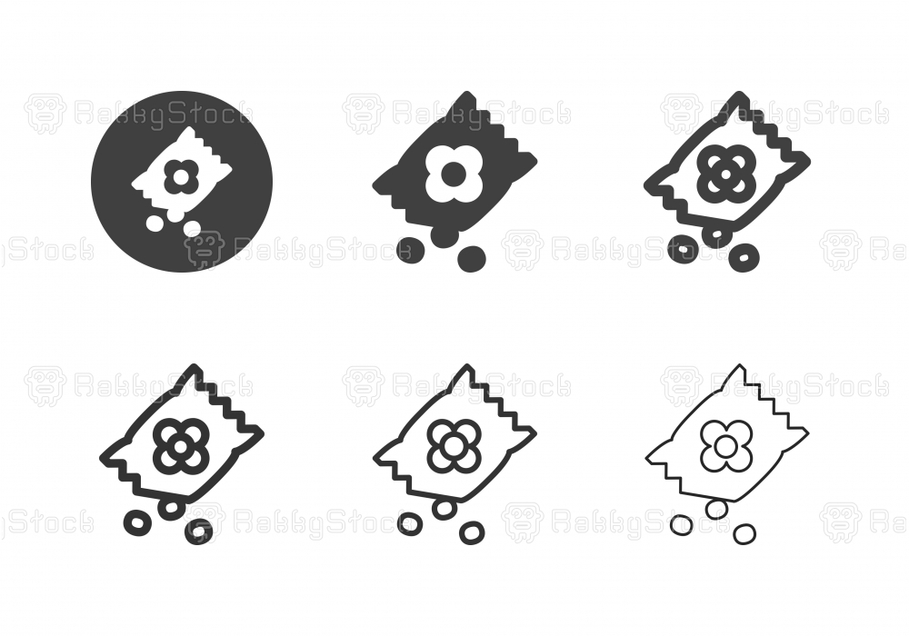 Seed Packets Icons - Multi Series