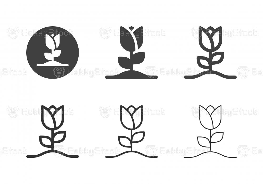 Tulip Tree Icons - Multi Series