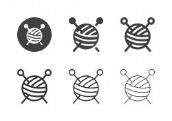 Knitting Icons - Multi Series