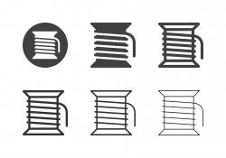 Bobbin Thread Icons - Multi Series